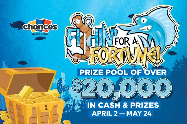fishin for a fortune promo