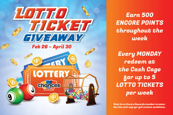 lotto ticket giveaway