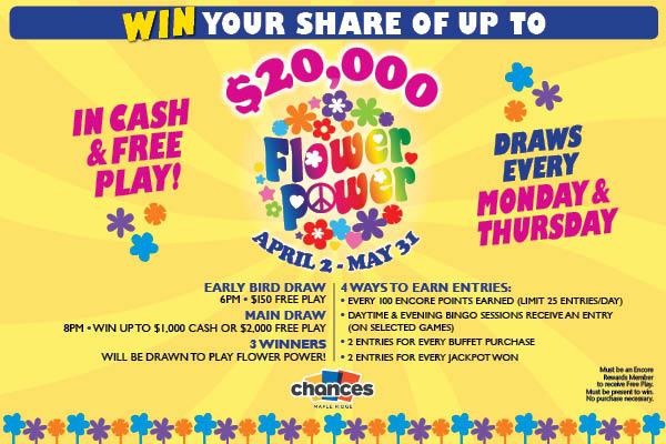 Chances Bingo Maple Ridge